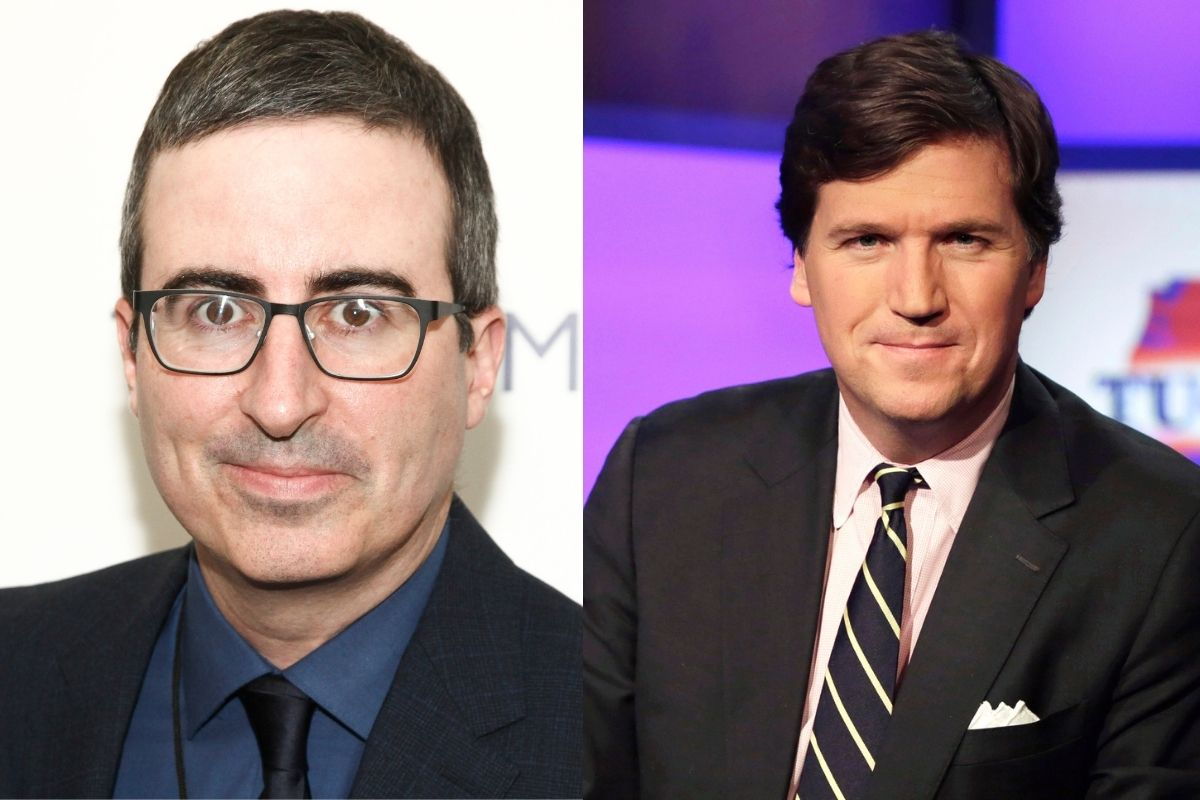 """John Oliver Breaks Down — and Takes Down — Tucker Carlson's """"White Supremacy"""""""