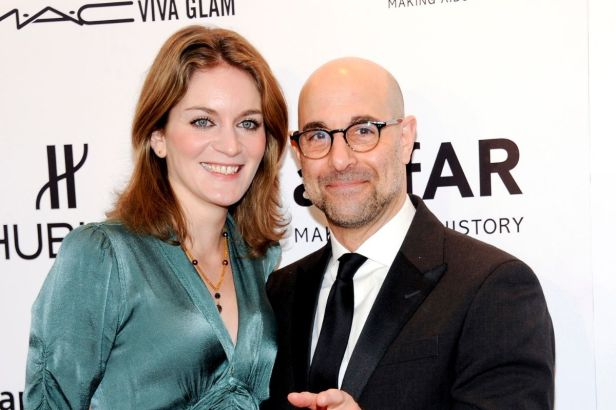 Stanley Tucci Met His Wife at the Premiere of 'The Devil Wears Prada'