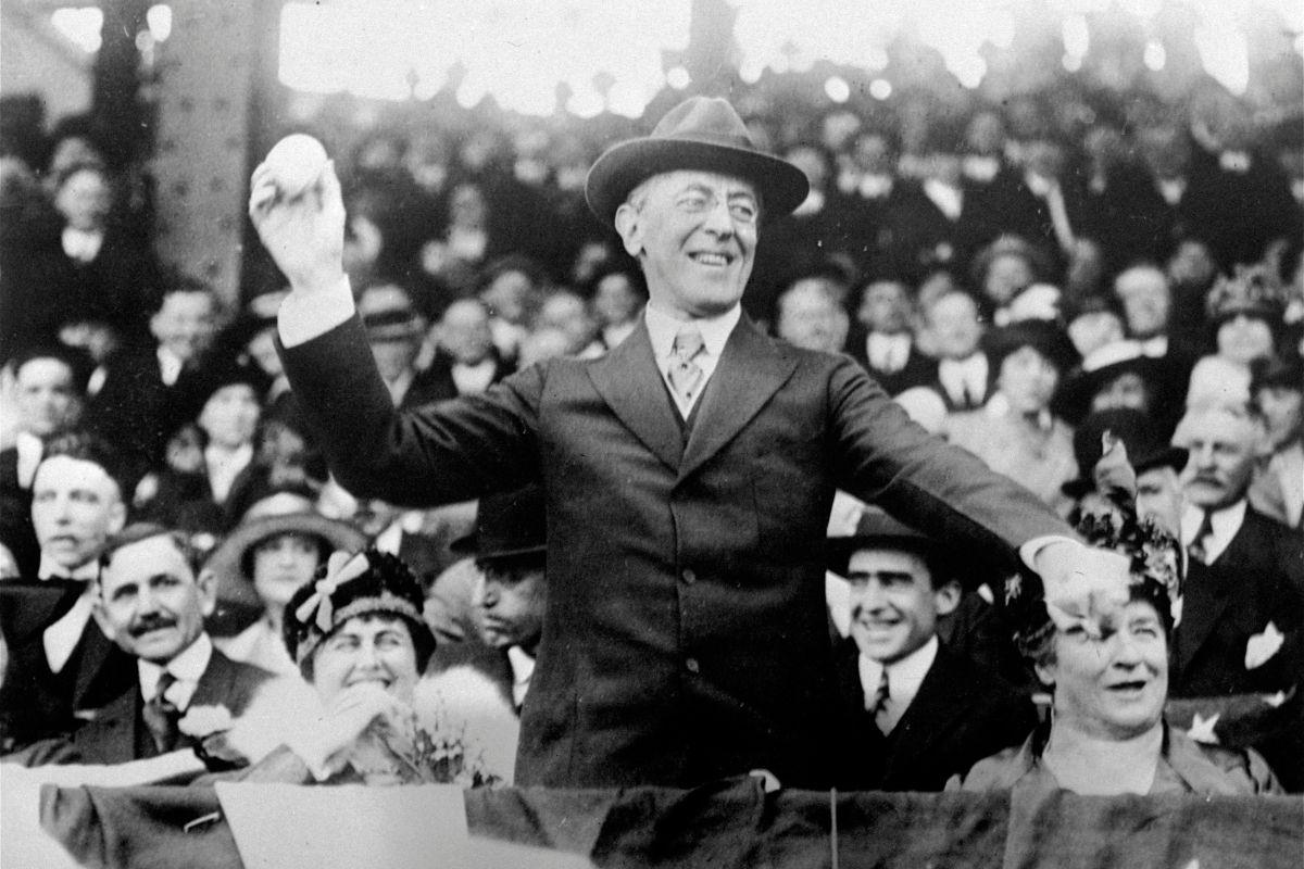 Was Woodrow Wilson in the KKK?