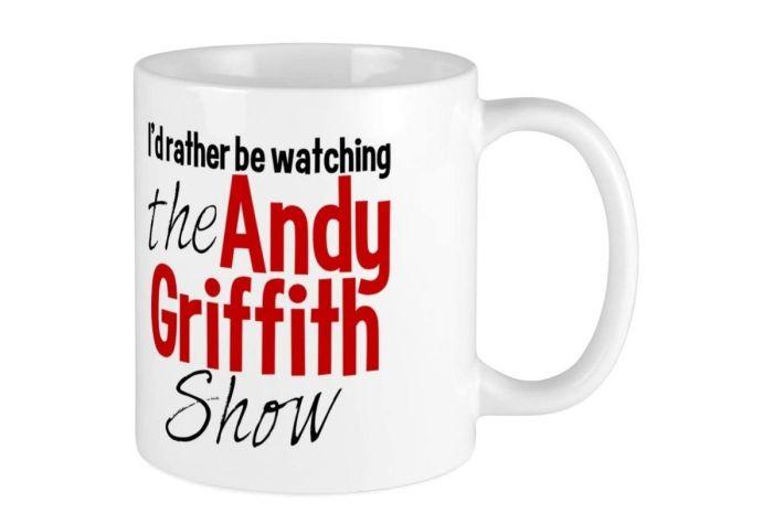$15 Andy Griffith Coffee Mug Makes Us Feel Nostalgic