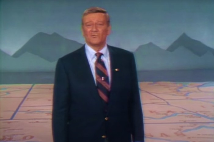 John Wayne's Rendition of 'God Bless America' Shocked The World!