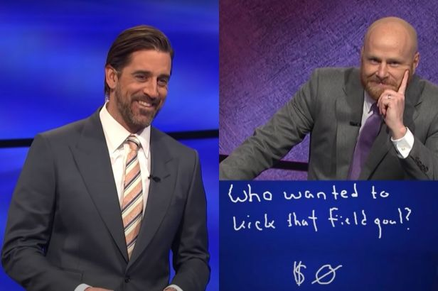 Aaron Rodgers Gets Trolled by Contestant on 'Jeopardy!'
