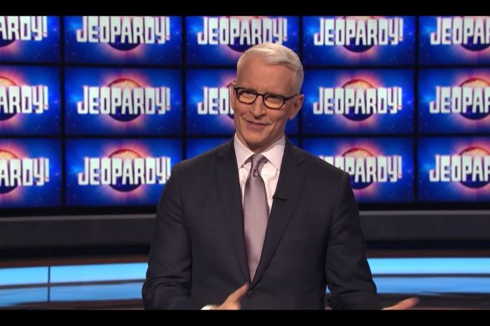 Anderson Cooper Pulls in Lowest 'Jeopardy!' Ratings