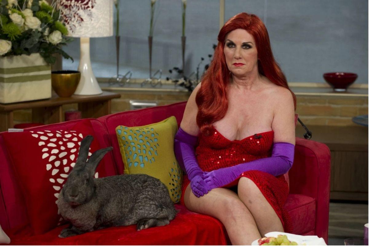 World's Biggest Bunny Stolen From Ex-Playboy Model