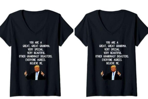 $21 Trump Shirt Will Make Grandma Laugh This Mother's Day