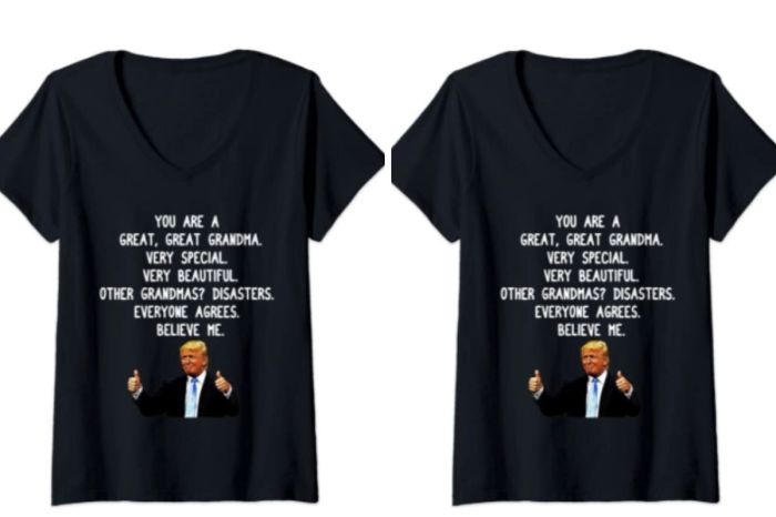 $21 Trump Shirt Will Make Grandma Laugh This Mother's Day