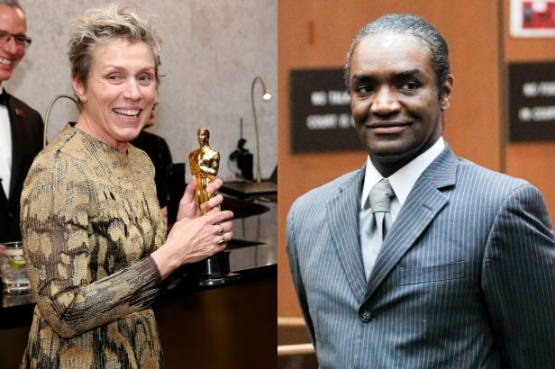 How Frances McDormand's Oscar Was Stolen at an After-Party