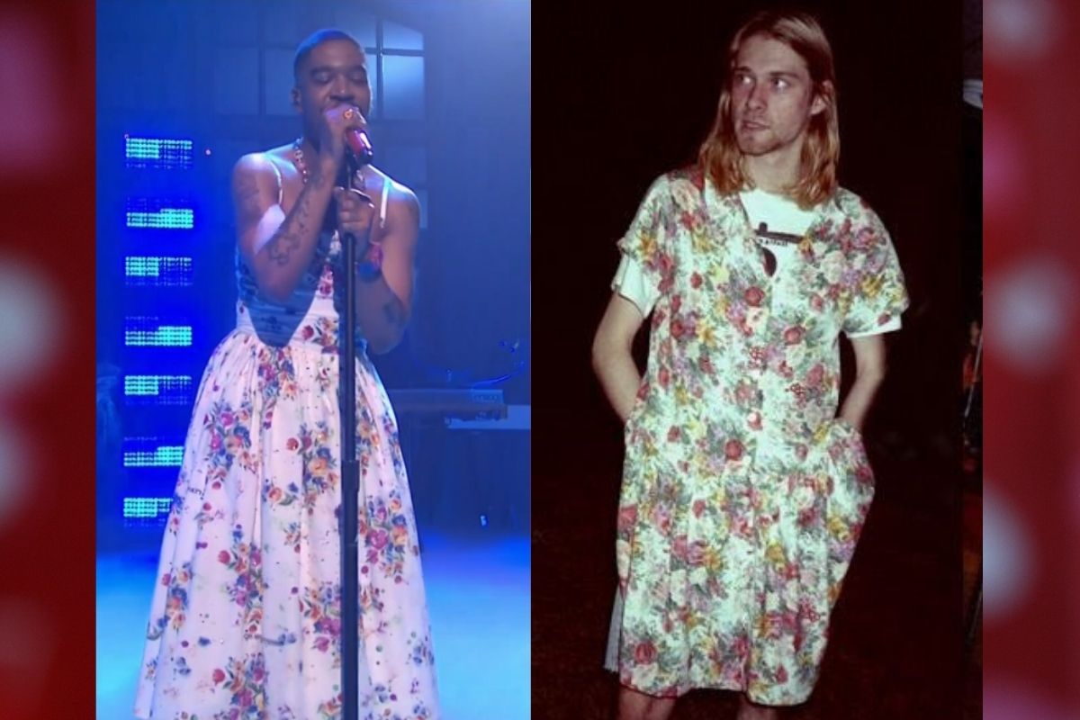 Kid Cudi Honored Kurt Cobain by Wearing a Dress on 'SNL'