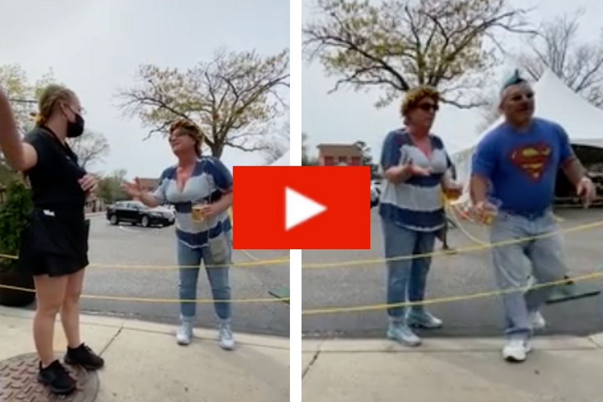 Vice Principal Throws Beer at Woman Filming His Wife's Transphobic Rant