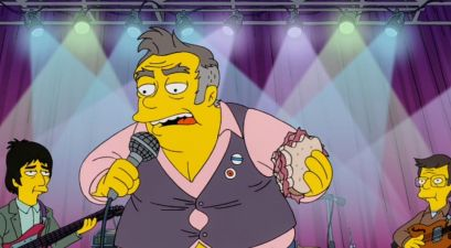 'The Simpsons' Portrays Morrissey as a Fat Racist