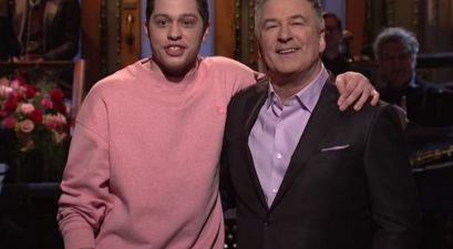 Pete Davidson Tricked Alec Baldwin into Doing 100 Sit-Ups Everyday