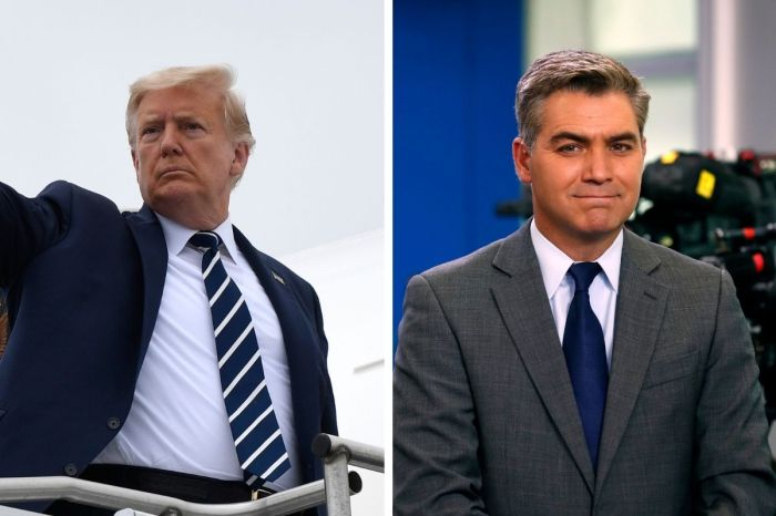 CNN's Jim Acosta Says We Are Dealing With 'Post-Trump Stress Disorder'