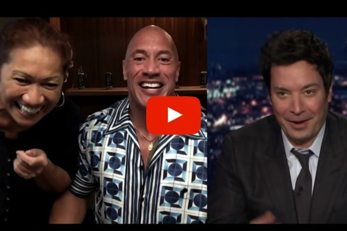Dwayne Johnson's Mom Steals Jimmy Fallon Interview With Epic Ukulele Performance