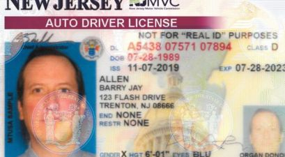 Gender 'X' Option is Now Available On New Jersey IDs and Driver's Licenses