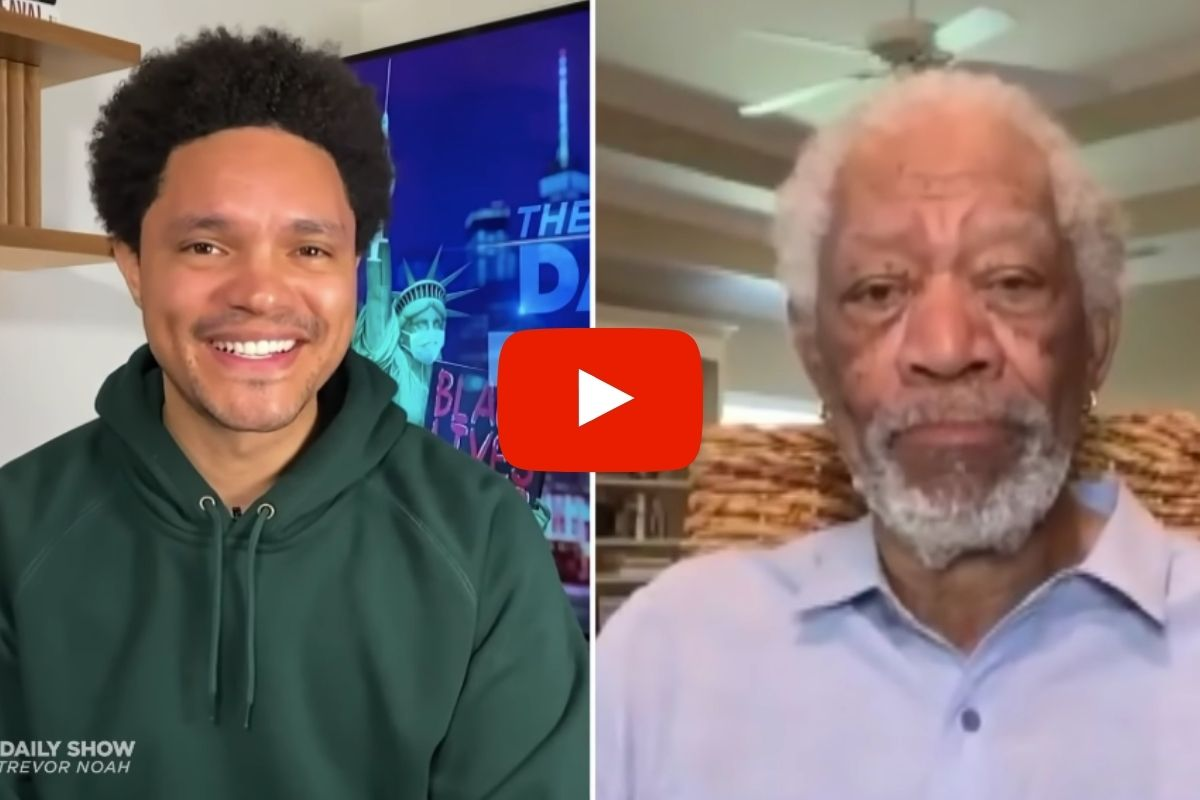 'Get the Freaking Shots!': Morgan Freeman Slams Anti-Vaxxers on 'Daily Show'