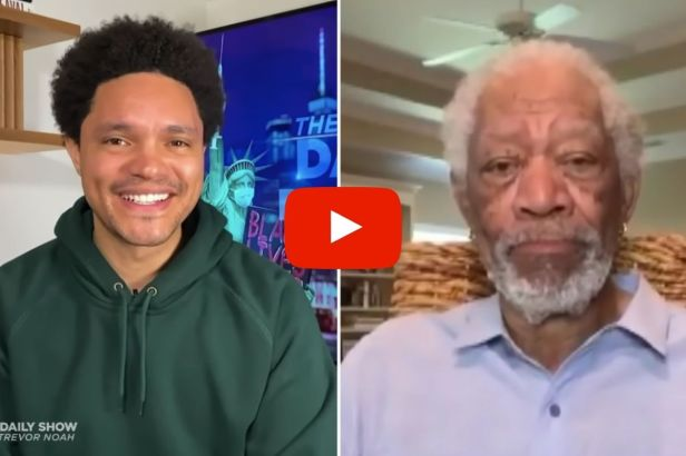 'Get the Freaking Shots!': Morgan Freeman Slams Anti-Vaxxers on 'Daily Show'
