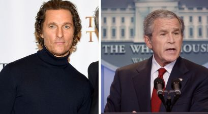 George W. Bush Warns Matthew McConaughey That Politics Is a 'Tough Business'