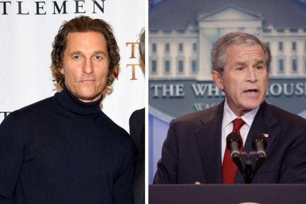 George W. Bush Warns Matthew McConaughey That Politics Is a 'Tough Business'