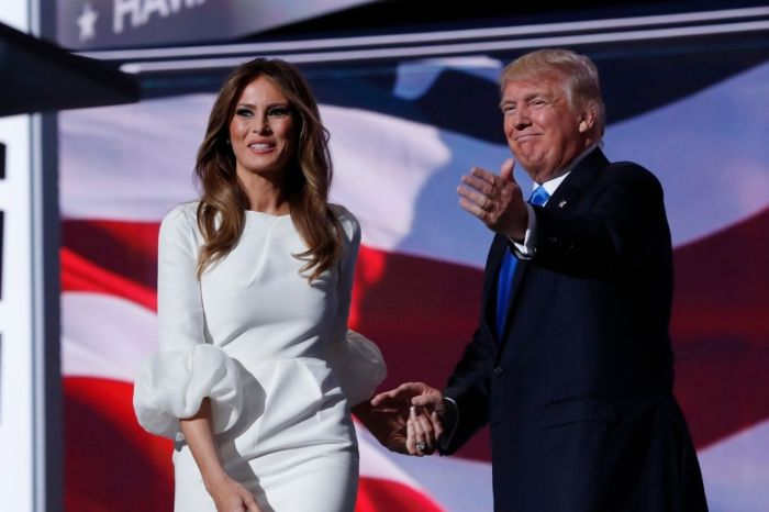 Melania Criticized for Calling Trump 'President' in Tribute to Prince Philip