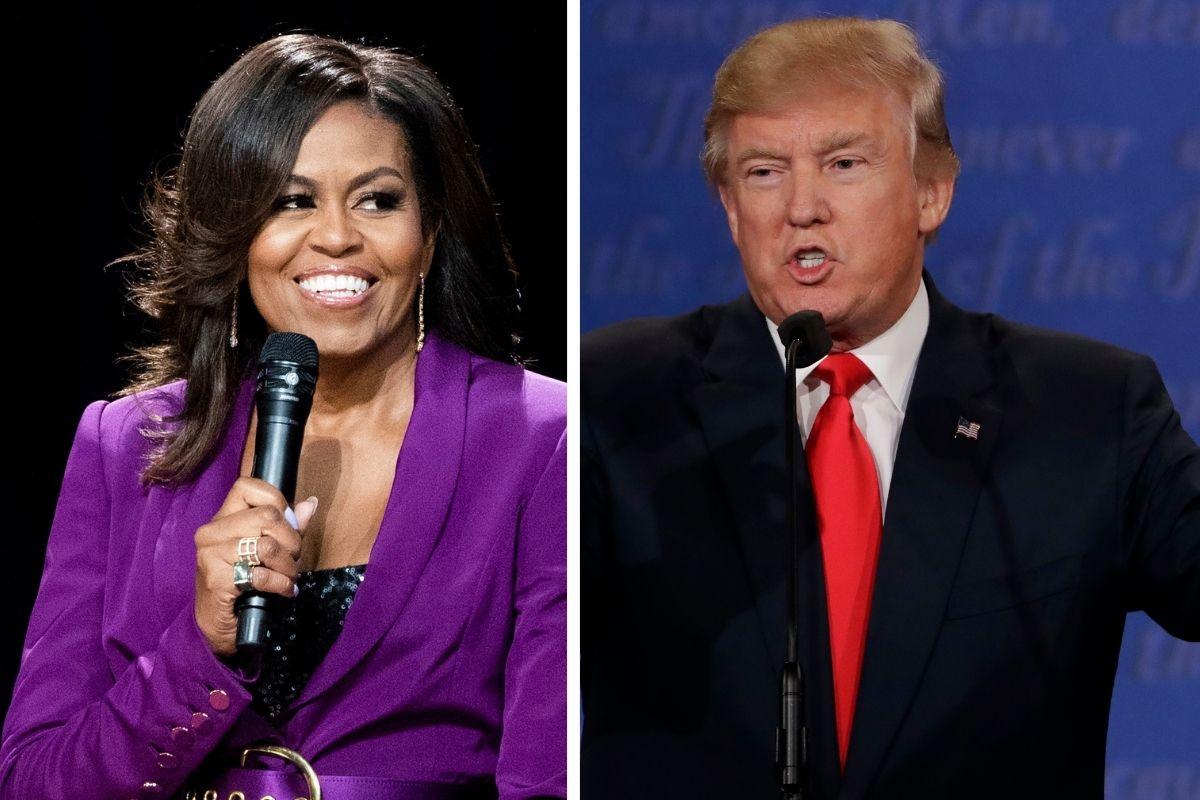 Donald Trump Caught on Audio Mocking Michelle Obama's Looks