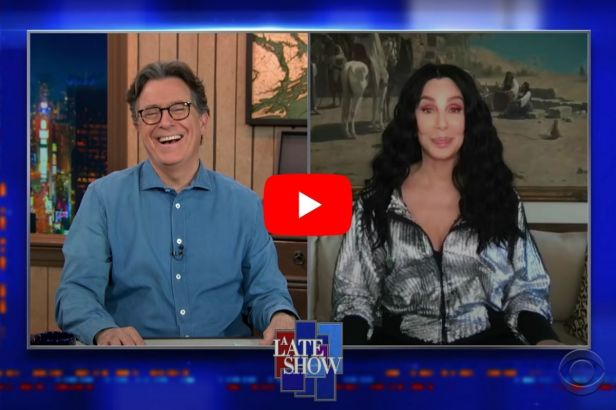 Cher Tells Stephen Colbert How She Snuck an Unconscious Phil Spector Onto a Plane