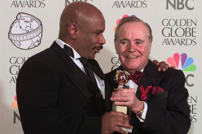 Ving Rhames Was Criticized for Giving His Golden Globe to Jack Lemmon