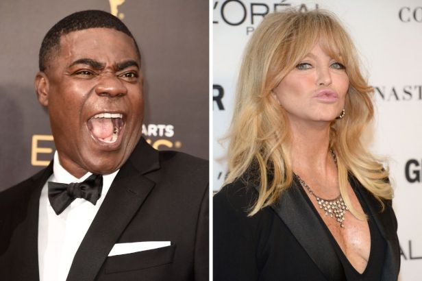Did Tracy Morgan Really Date Goldie Hawn?