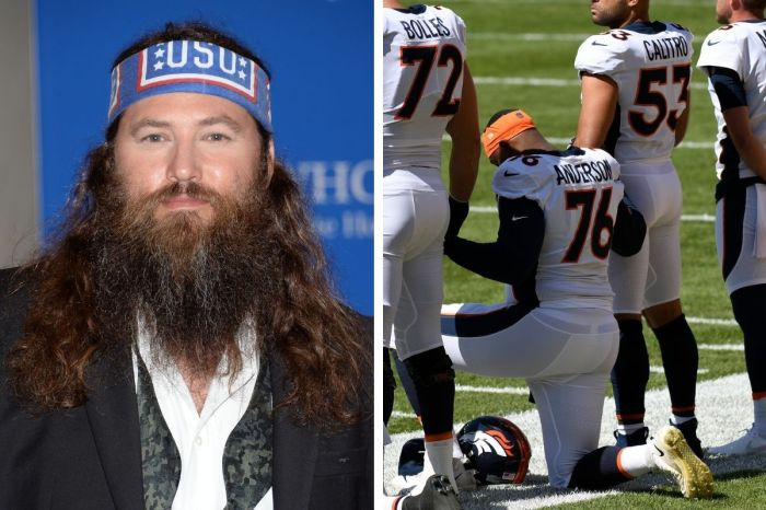 "'Duck Dynasty' Star Willie Robertson Says Kneeling at NFL Games ""Feels a Little Un-American"""