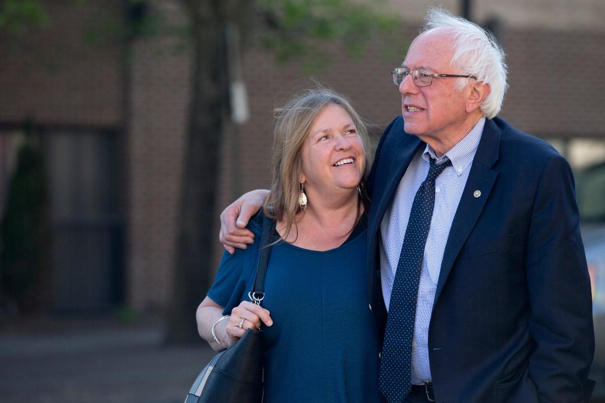 Bernie Sanders' Biggest Supporter is His Wife
