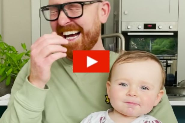 """16-Month-Old Baby Hilariously Says """"Mama"""" in Creepy, Demonic Voice"""