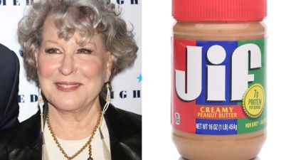 Bette Midler Hilariously Confuses Peanut Butter and Popcorn in Awful COVID-19 Vaccine Meme