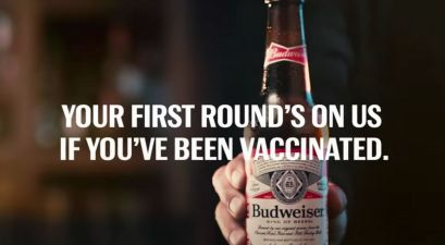 Budweiser Is Offering Free Beer If You're Vaccinated!