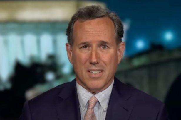 """""""We Birthed a Nation from Nothing"""": CNN Drops Rick Santorum Over Racist Remarks"""