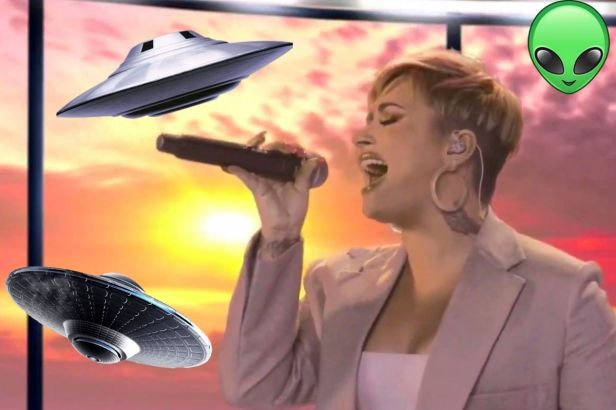 Pop Star Demi Lovato Is Now Investigating UFOs