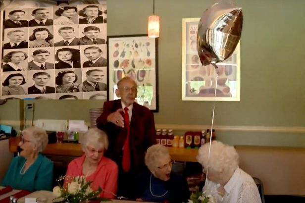 This High School Class of 1941 Just Celebrated Its 80th Reunion!