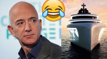 Jeff Bezos' Yacht Has Its Own 'Support Yacht; Gets Hilariously Roasted