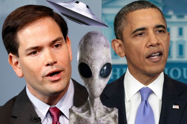 Barack Obama Says There Are Things He Can't Tell Us About Aliens