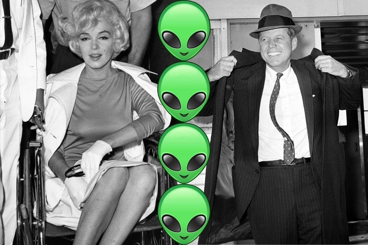 Marilyn Monroe's Death Linked to UFOs and Aliens, New Book Suggests