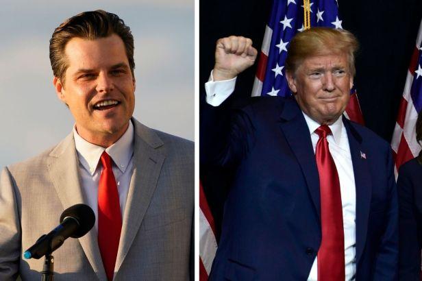 Matt Gaetz Plans to Run for President in 2024, Only If Donald Trump Doesn't