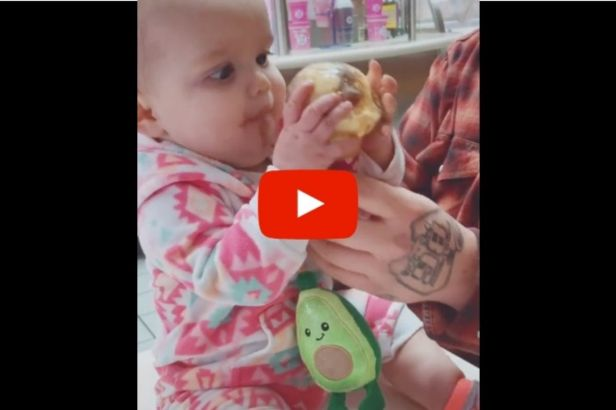 This Baby's Reaction To Eating Ice Cream For The First Time Is Hilarious!