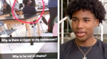 "Racist Social Media Post Asking Why Black Classmate ""Not in Chains"" Results in 16 Year Old's Arrest"