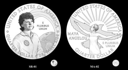 Sally Ride and Maya Angelou Will Appear on New Quarters