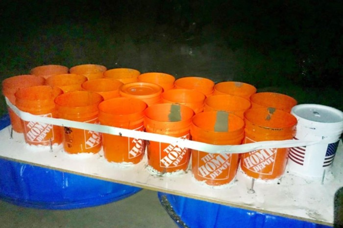 College Students Rescued After Being Stranded on Boat Made of Buckets, Kiddie Pools & Duct Tape