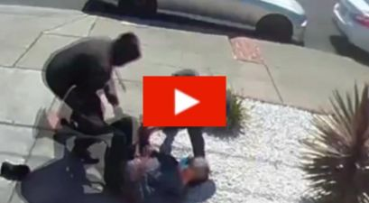 Teens Attack 80-Year-Old Asian Man in Horrifying Surveillance Video