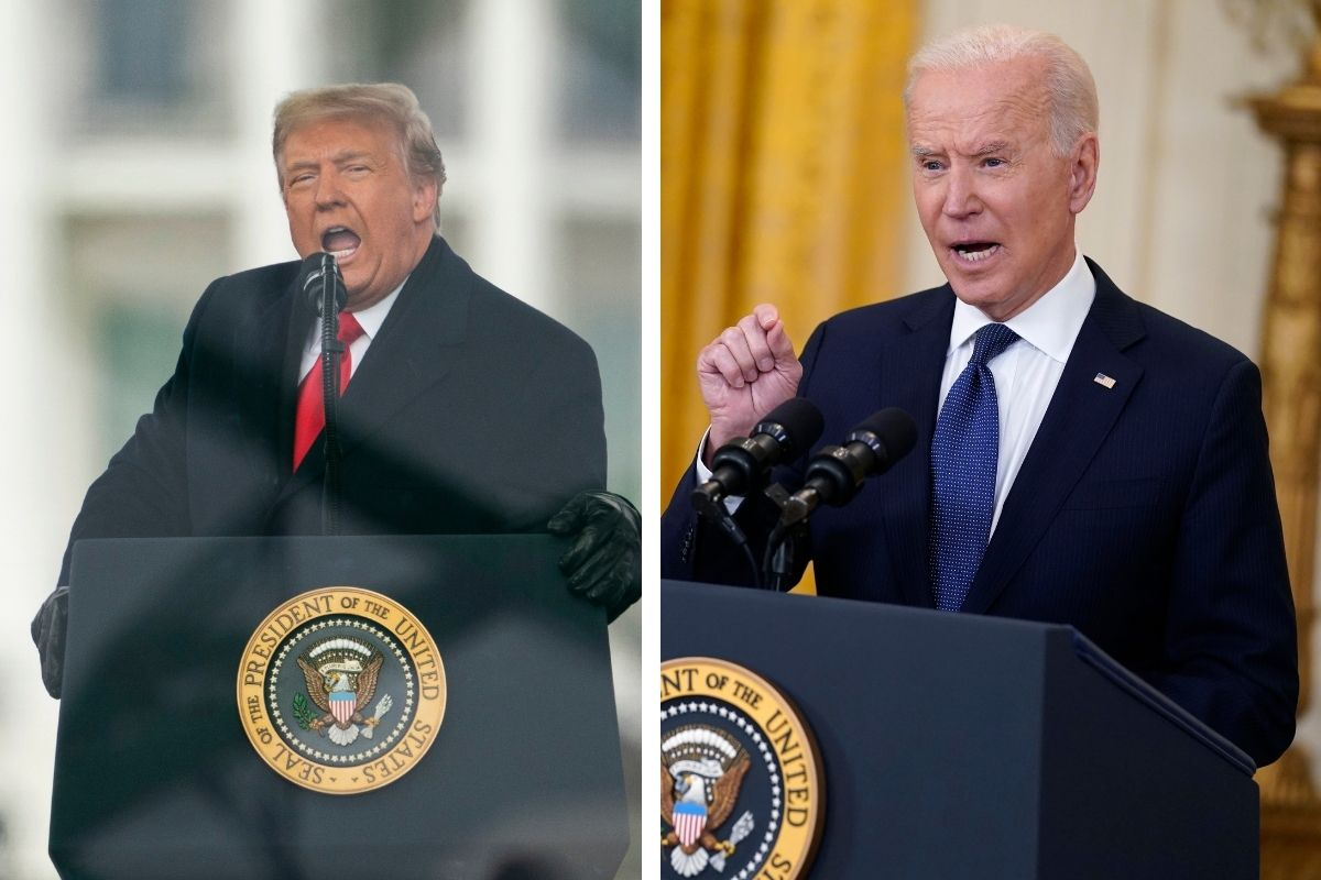 """Trump Blames Biden's """"Weakness and Lack of Support"""" for Rising Violence in Israel"""