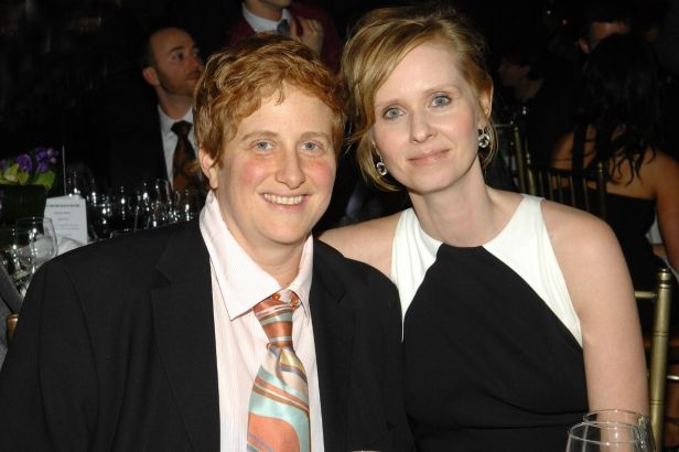 Cynthia Nixon and Her Wife Got Engaged at a Same-Sex Marriage Rally