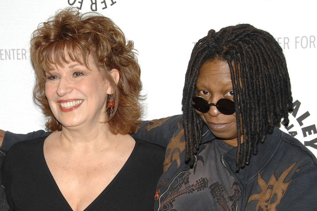 Joy Behar and Whoopi Goldberg