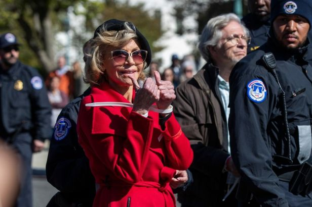 How Many Times Has Jane Fonda Been Arrested?