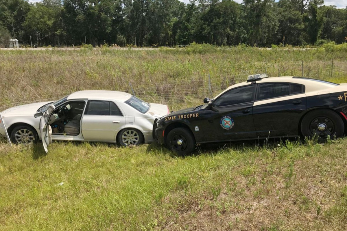 Half-Naked Florida Woman Leads Highway Patrol on High-Speed Chase