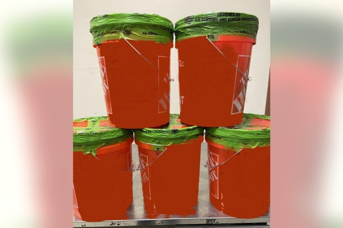 Border Agents Seize $4.6 Million Worth of Cocaine and Meth in Home Depot Buckets